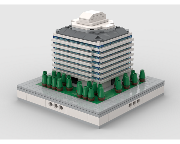 MOC - Office building #3 | for modular city - How to build it
