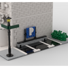 MOC - Modular Corner Parking | Turn every modular model into a corner - How to build it