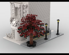 MOC - Modular Corner Tree Street | Turn every modular model into a corner