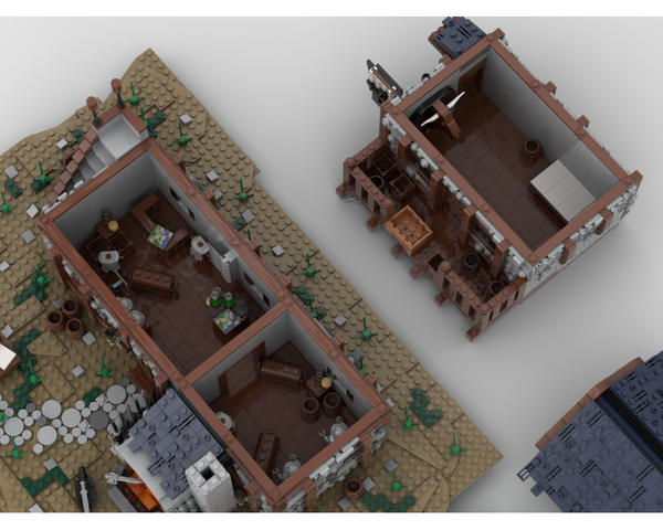 MOC - The Blacksmith House