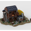 MOC - The Blacksmith House - How to build it