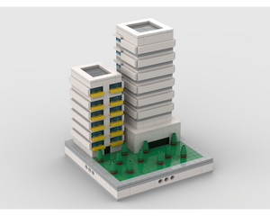 MOC - Apartment Building | for modular city