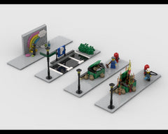 MOC - Modular Corner Pack #3 - Turn every modular model into a corner