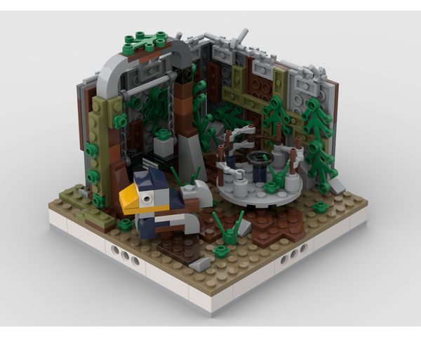 MOC - Abandoned Playground for a Modular Ruined City