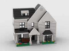 MOC - Neighborhood white house Half open