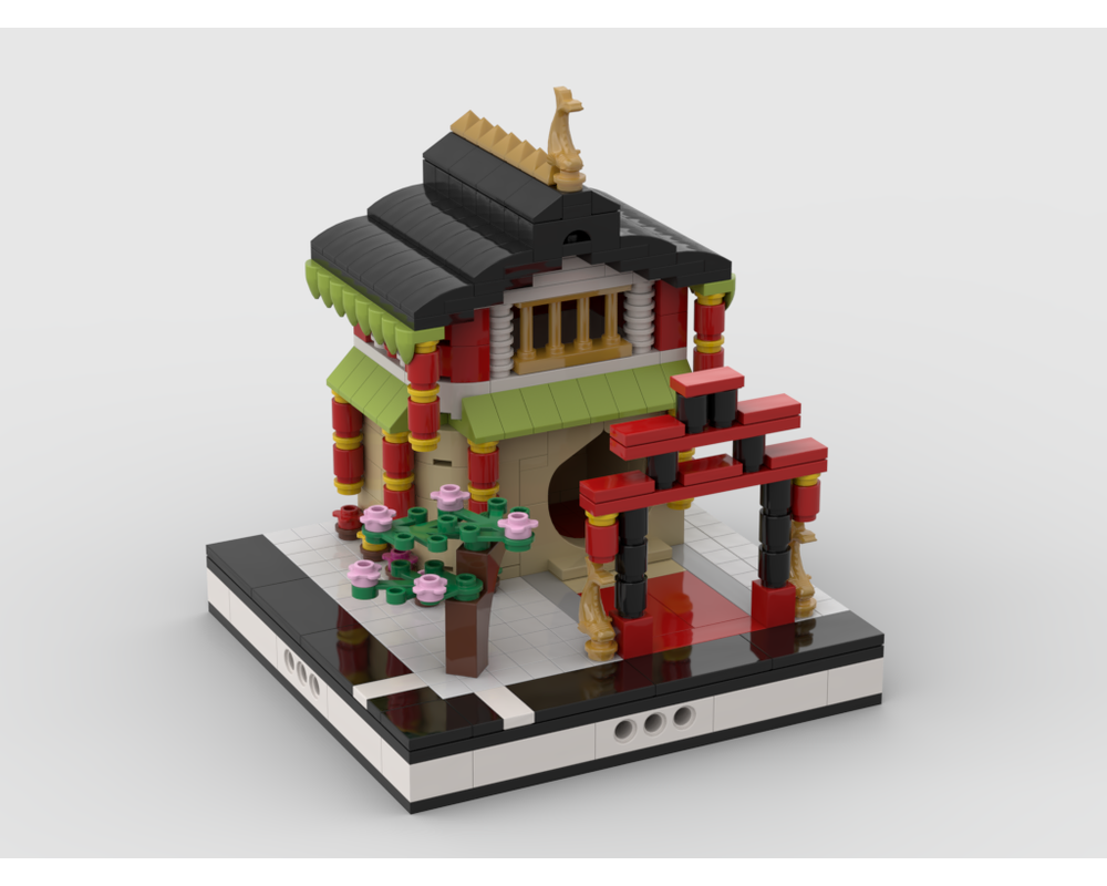 MOC - CHINA TOWN for a Modular City