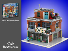 MOC - 10264 Cafe Alternative Build