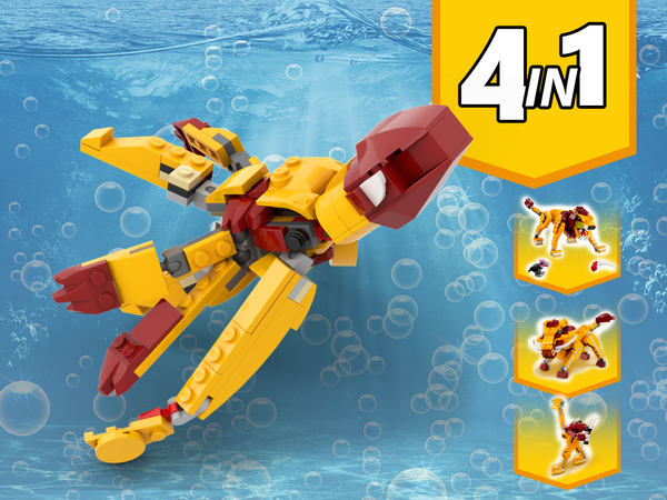 MOC - 31112 Octopus Alternative Build - How to build it