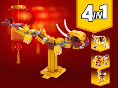 MOC - 31112 Festival Dragon Alternative Build