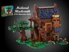MOC - 21318 Medieval Blacksmith Alternative Build