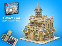MOC - 10214 Corner PUB Alternative Build