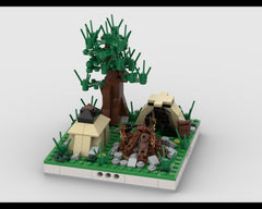 MOC - Camping Camp for a Modular City