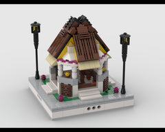 MOC - Colorful Gazebo for park - modular city