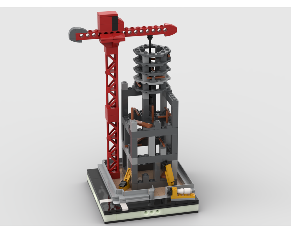 MOC - Construction Site for a Modular City