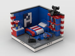MOC - Super Heroes Room Design #11
