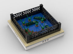 MOC - Alligator | mini modular ZOO