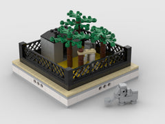 MOC - Elephants| mini modular ZOO