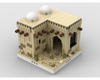 MOC - Desert House #2 for a Modular Desert village