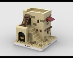MOC - Desert House #3 for a Modular Desert village