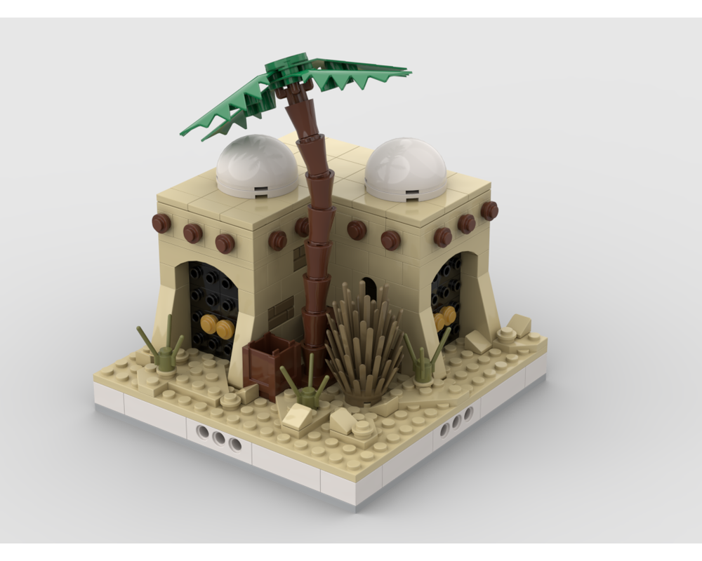 MOC - Desert House #4 for a Modular Desert village