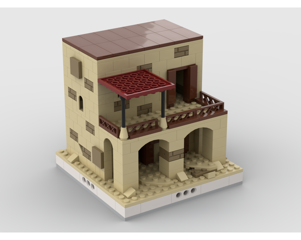 MOC - Desert House #5 for a Modular Desert village