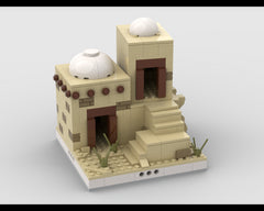 MOC - Desert House #6 for a Modular Desert village