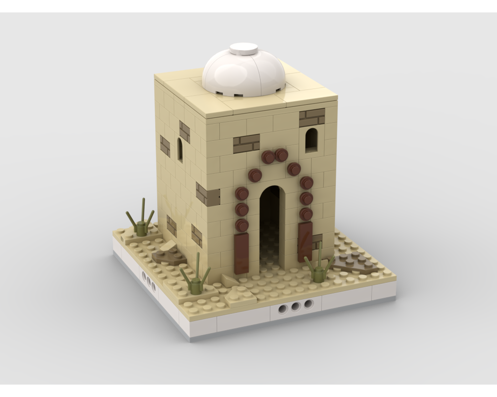 MOC - Desert House #7 for a Modular Desert village