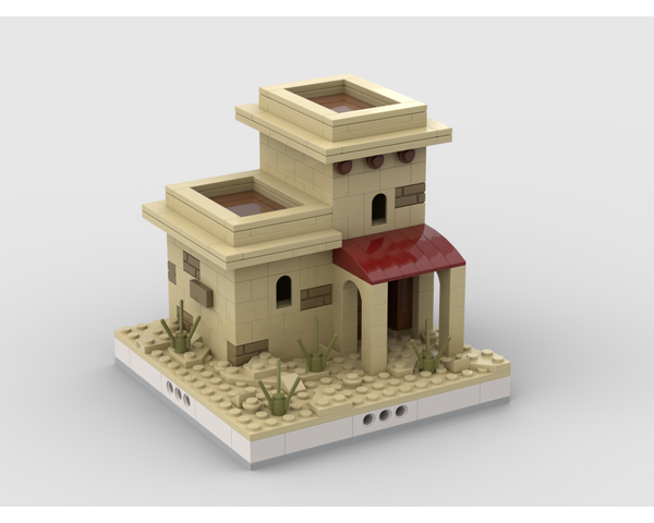 MOC - Desert House #9 for a Modular Desert village