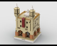 MOC - Desert Temple for a Modular Desert village