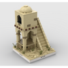 MOC - Desert Tower for a Modular Desert village - How to build it