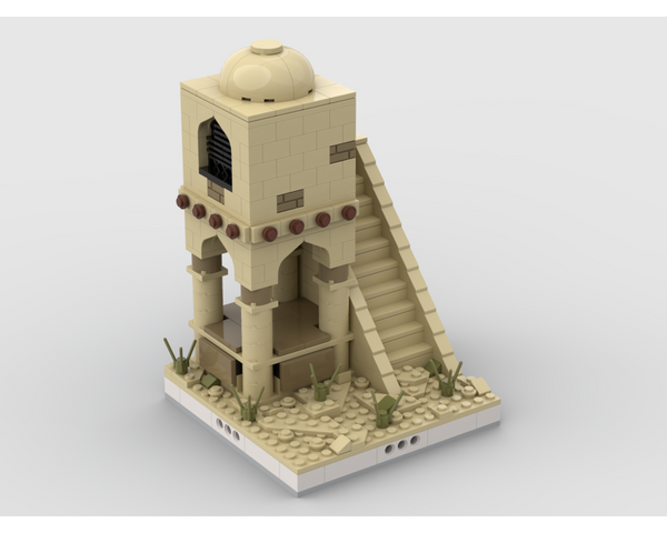 MOC - Desert Tower for a Modular Desert village