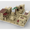 MOC - Desert Village Extension | build from 7 different mocs (1691) parts