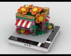 MOC - Flower Shop for a Modular City