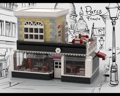 MOC - Franch Caffee and Cake Shop