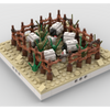 MOC - Herd of sheep for a Modular Desert village - How to build it