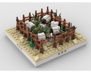 MOC - Herd of sheep for a Modular Desert village