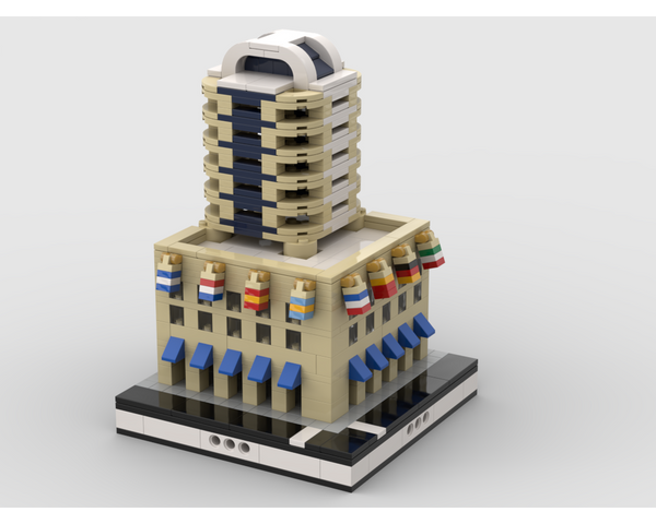 MOC - Hotel for a Modular City - How to build it
