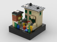 MOC - Mini set 123 Sesame Street - 21324