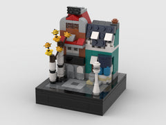 MOC - Mini SET 10270-1 - Bookshop