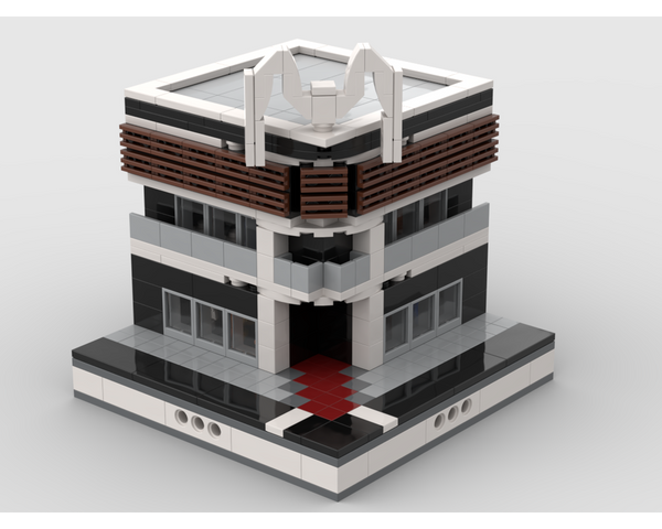 MOC - Lego Mall for a Modular City - How to build it