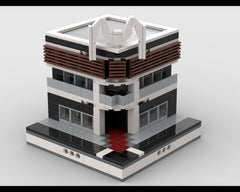 MOC - Lego Mall for a Modular City