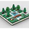 MOC - Lego Mini Park for a Modular City