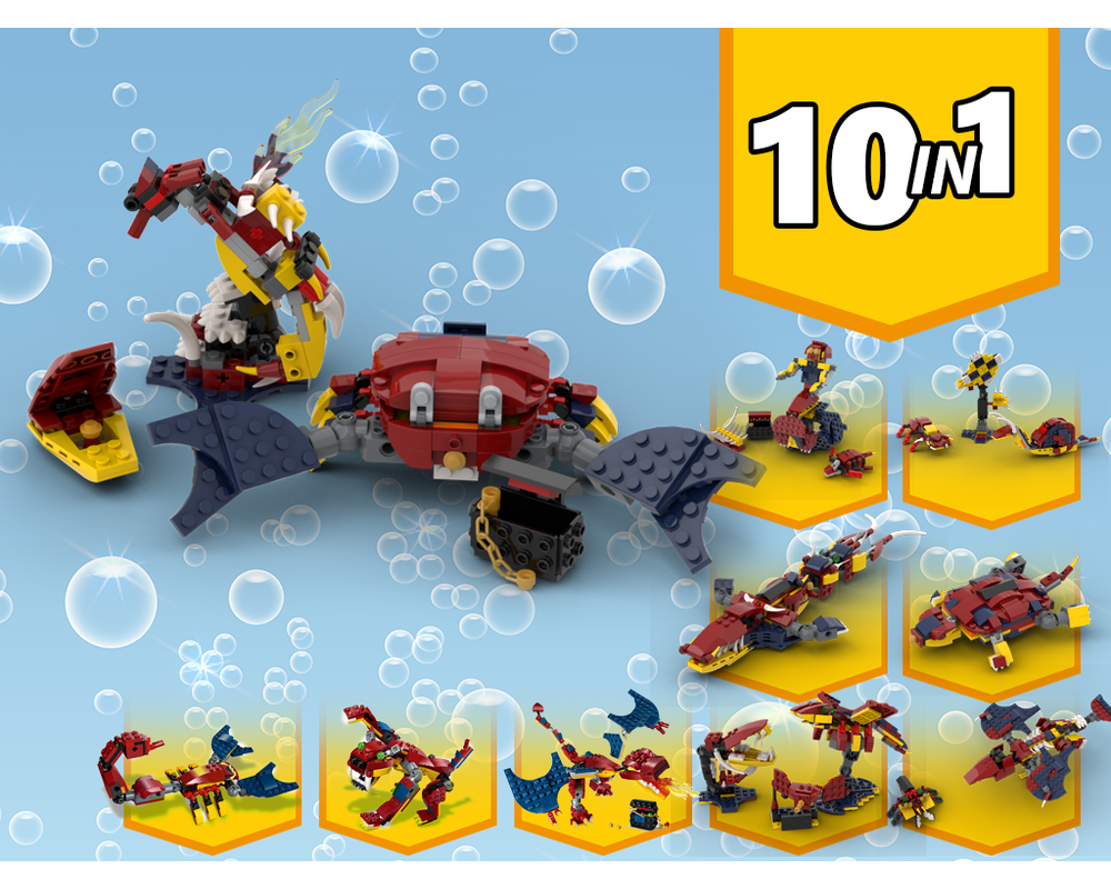 MOC - 31102 Alternative Build 10 in 1 | 7 MOCs