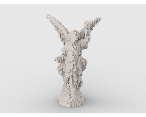 MOC - Angel Statue - How to build it