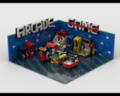 MOC - Arcade Game Center