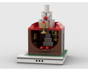 MOC - Bullet Throwing Stand for modular Amusement Park