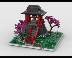 MOC - Chinese Temple Diorama
