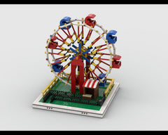 MOC - Ferris Wheel for modular Amusement Park