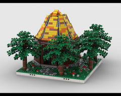 MOC - Hut in the Woods