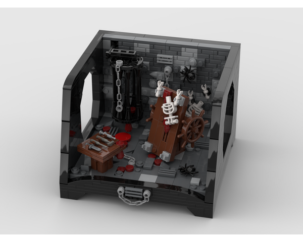 MOC - Medieval Dungeon with a special stand